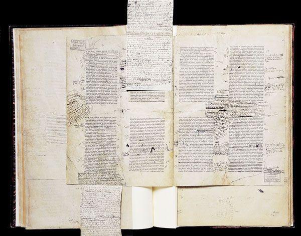 Paperolles de Marcel Proust