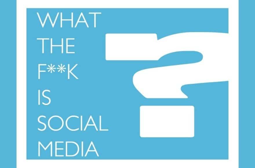 Une de couv du slideshare What the f*ck is social media de Marta Kagan