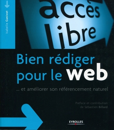Livre Bien rédiger pour le Web, Eyrolles