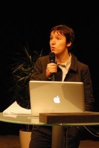 Gabrielle Denis au forum Néo-médias, nouveaux métiers