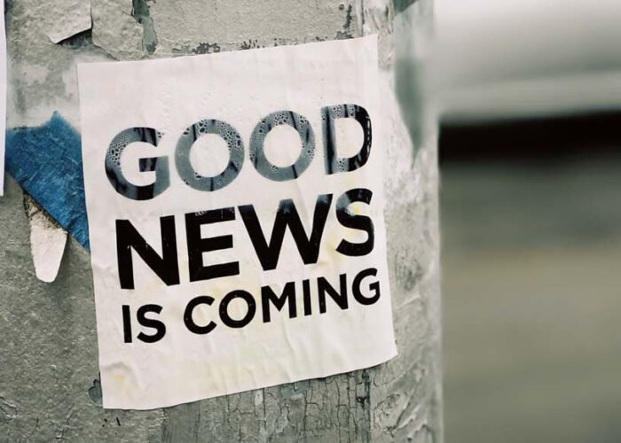 Affiche Good news is coming