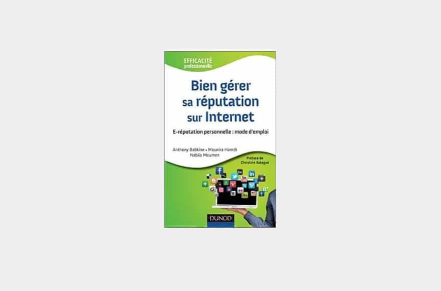 couverture livre bien gérer sa réputation sur internet