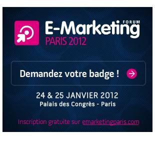 Forum E-Marketing Paris 2012