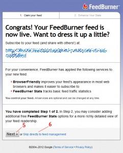 Créer une infolettre automatique avec Feedburner