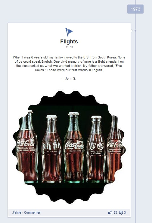 Coca-Cola : moment-clé