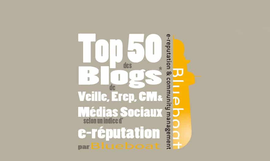 top 50 des blogs influents