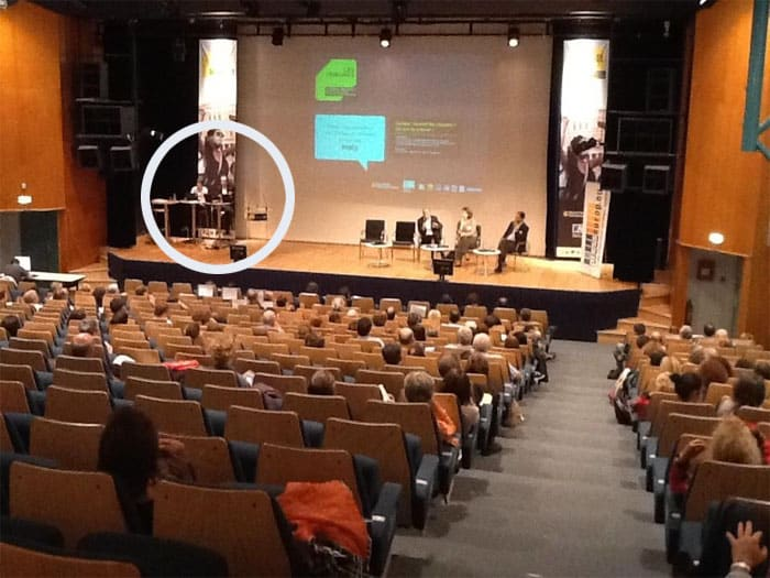 Les community managers d'Editoile présents sur la scène