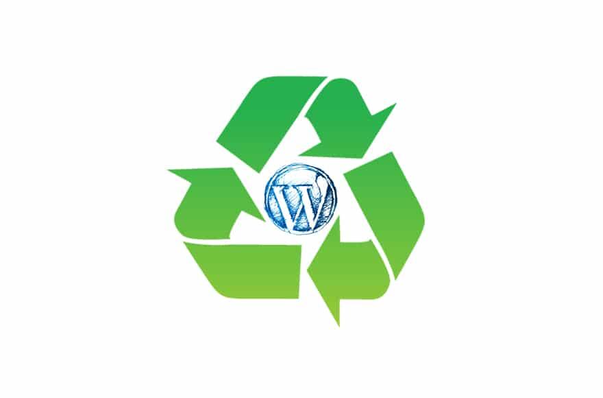picto recyclage de contenu web