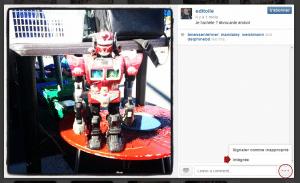 Intégrer des statuts sociaux sur un site Web - Instagram