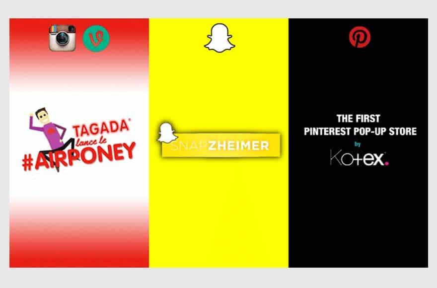 3 campagnes socialmedia
