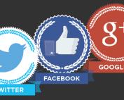 3 réseaux sociaux, 1 infographie