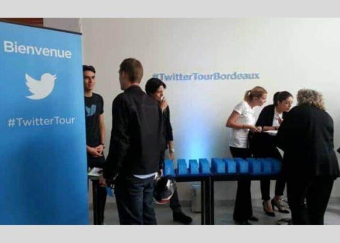 Twitter tour à Bordeaux