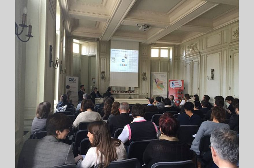 conférence sur le contenu web au CIVB