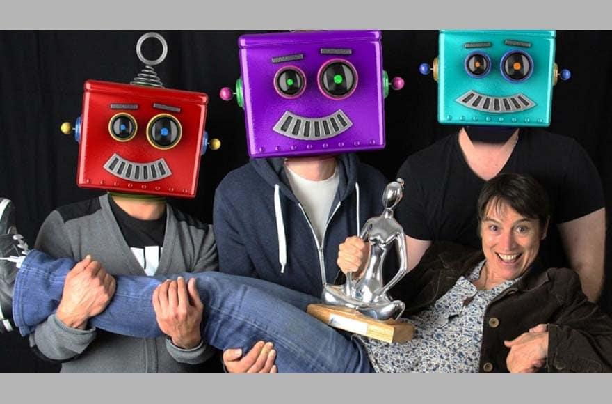 Les robots d'Editoile portent Gabrielle Denis