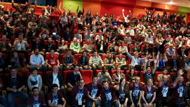 Photo finale du WordCamp Bordeaux par
