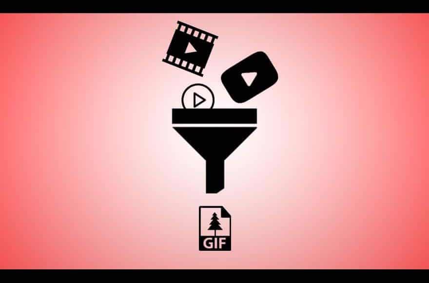 entonnoir pour créer un GIF
