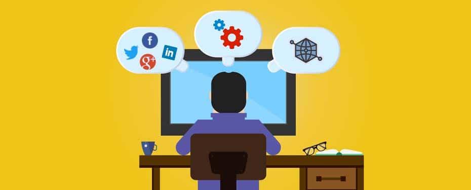 partager des liens sur les réseaux sociaux
