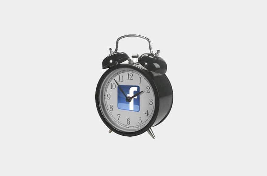 réveil facebook