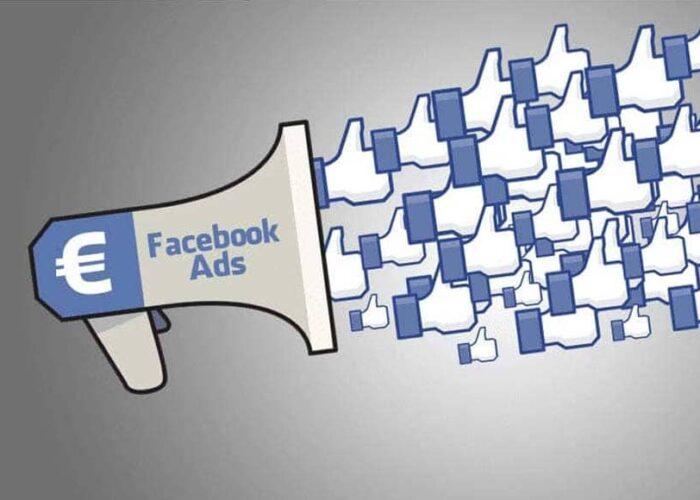 Haut-parleur qui lance des likes Facebook