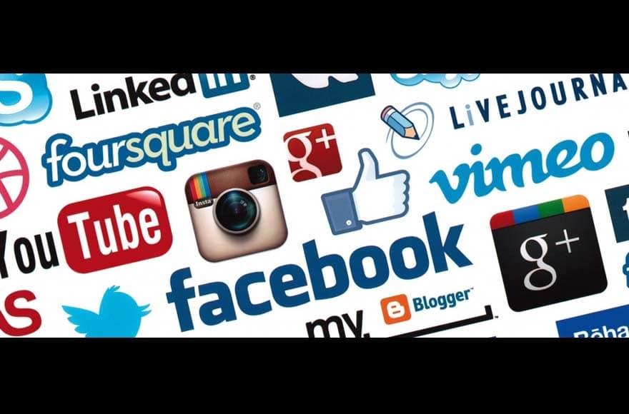 Les principaux réseaux sociaux à afficher