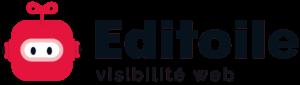 Logo Editoile visibilité web grand format en png