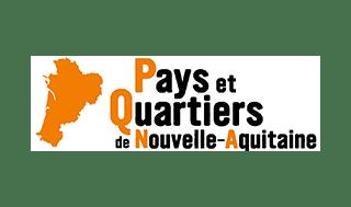 logo Pays et Quartiers de Nouvelle-Aquitaine