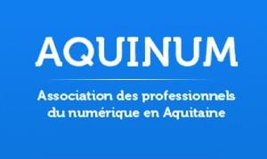 Logo Aquinum association des professionnles du numérique en Aquitaine