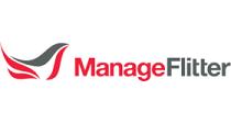 Logo manage flitter