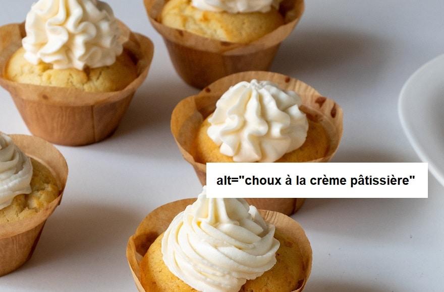 choux à la crème pâtissière